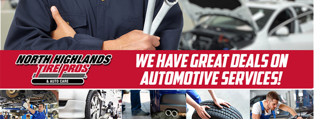View our Current Specials on Automotive Services