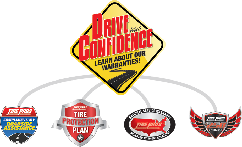 Drive with Confidence Gurantee at North Highland Tire Pros in North Highlands, CA 95660