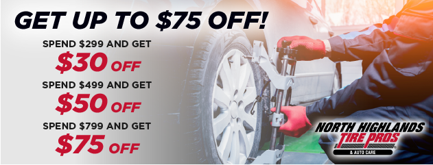 Get up to $75 OFF